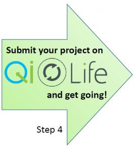 Starting a QI project - Step 4