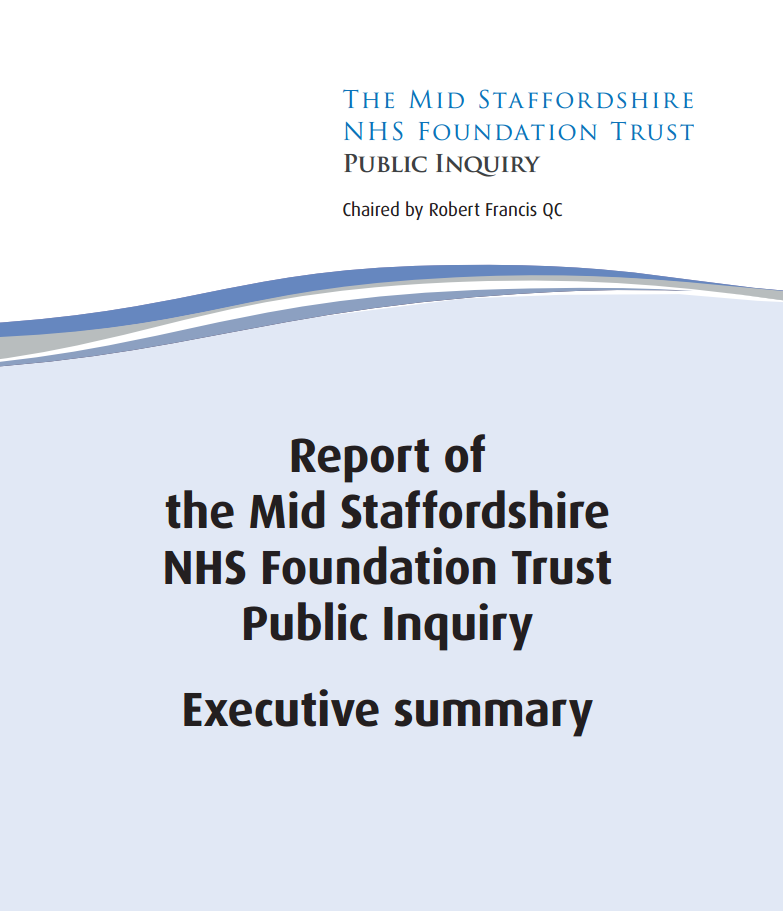 Report of the Mid Staffordshire NHS Foundation Trust ...