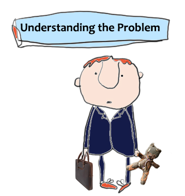 Image of new starter, with title 'Understanding the Problem'
