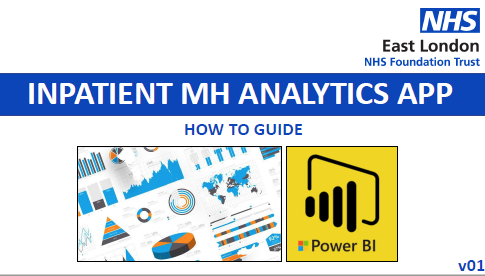 Inpatient MH analytics APP – How to guide